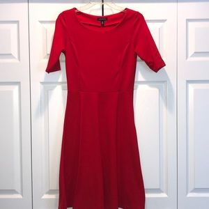 Lands End Red Dress Size Small (6-8)